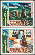 """Movie Posters:Science Fiction, Devil Girl from Mars (Spartan, 1955). Fine/Very Fine. Lobby Cards (2) (11"""" X 14""""). Science Fiction.. ... (Total: 2 Items)"""