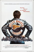 """Movie Posters:Exploitation, Hells Angels Forever (RKR Releasing, 1983). Folded, Very Fine. One Sheet (27"""" X 41"""") Charles Lilly Artwork. Exploitation.. ..."""