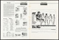 """Movie Posters:James Bond, Dr. No & Other Lot (United Artists, 1962). Folded, Fine/Very Fine. Uncut Pressbooks (2) (Multiple Pages, 13.25"""" X 18""""). Mitc... (Total: 2 Items)"""