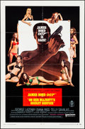 """Movie Posters:James Bond, On Her Majesty's Secret Service (United Artists, 1970). Folded, Very Fine. One Sheet (27"""" X 41"""") & Uncut Pressbook (8 Pages,... (Total: 2 Items)"""