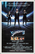 """Movie Posters:Action, Superman II (Warner Brothers, 1981). Folded, Very Fine/Near Mint. One Sheet (27"""" X 41"""") Advance. Action.. ..."""