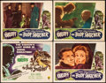 "Movie Posters:Horror, The Body Snatcher (RKO, 1945). Overall: Fine+. Title Lobby Card & Lobby Cards (3) (11"" X 14""). Horror.. ... (Total: 4 Items)"