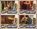 "Movie Posters:Horror, The Body Snatcher (RKO, 1945). Fine/Very Fine. Lobby Cards (4) (11"" X 14""). Horror.. ... (Total: 4 Items)"
