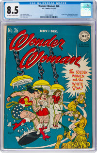 Wonder Woman #26 (DC, 1947) CGC VF+ 8.5 Off-white to white pages