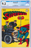 Golden Age (1938-1955):Superhero, Superman #46 (DC, 1947) CGC NM- 9.2 Off-white to white pages....