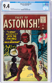 Tales to Astonish #7 (Marvel, 1960) CGC NM 9.4 Off-white to white pages