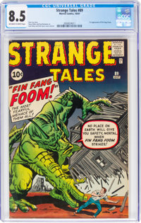 Strange Tales #89 (Marvel, 1961) CGC VF+ 8.5 Off-white to white pages