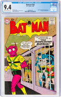 Silver Age (1956-1969):Superhero, Batman #128 (DC, 1959) CGC NM 9.4 Cream to off-white pages....