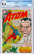 Silver Age (1956-1969):Superhero, The Atom #1 (DC, 1962) CGC VF+ 8.5 Off-white pages.