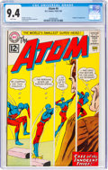 Silver Age (1956-1969):Superhero, The Atom #4 (DC, 1963) CGC NM 9.4 White pages. Sna...