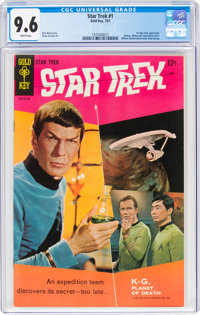 Star Trek #1 (Gold Key, 1967) CGC NM+ 9.6 White pages