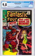 Silver Age (1956-1969):Superhero, Fantastic Four #66 (Marvel, 1967) CGC NM/MT 9.8 White page...