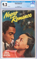 Golden Age (1938-1955):Romance, Negro Romance #2 (Fawcett Publications, 1950) CGC NM- 9.2 Off-white to white pages....