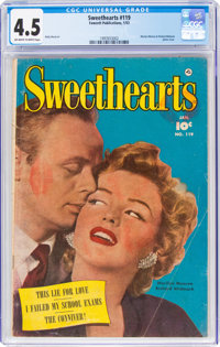 Sweethearts #119 (Fawcett Publications, 1953) CGC VG+ 4.5 Off-white to white pages