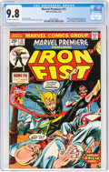 Bronze Age (1970-1979):Superhero, Marvel Premiere #15 Iron Fist (Marvel, 1974) CGC NM/MT 9.8 Off-white to white pages....