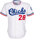 Baseball Collectibles:Uniforms, 1986 Bo Jackson Game Worn Memphis Chicks Jersey - Photo Matched to 6/29 vs. Charlotte Orioles....