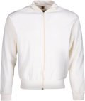 Boxing Collectibles:Memorabilia, 1960's Floyd Patterson Signed Trainer's Jacket. ...