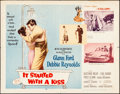 """Movie Posters:Comedy, It Started with a Kiss (MGM, 1959). Folded, Very Fine-. Half Sheets (2) (22"""" X 28"""") Styles A & B. Comedy.. ... (Total: 2 Items)"""