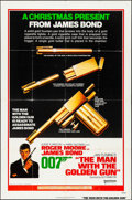 "Movie Posters:James Bond, The Man with the Golden Gun (United Artists, 1974). Folded, Fine/Very Fine. One Sheet (27"" X 41"") Advance. Robert McGinnis A..."