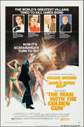 """Movie Posters:James Bond, The Man with the Golden Gun (United Artists, 1974). Folded, Very Fine-. One Sheet (27"""" X 41"""") Style B. Robert McGinnis Artwo..."""