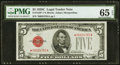 Fr. 1528* $5 1928C Legal Tender Star Note. PMG Gem Uncirculated 65 EPQ