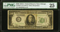 Fr. 2202-G $500 1934A Federal Reserve Note. PMG Very Fine 25
