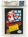 Video Games:Nintendo, Super Mario Bros. [Oval SOQ R] Carolina Collection Wata 9.8 A+ Sealed NES Nintendo 1985 USA....