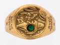 "Premiums:Radio, Buck Rogers Repeller Ray ""Supreme Inner Circle"" Brass Ring (Cream of Wheat, 1936-42)...."
