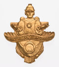 Premiums:Radio, Buck Rogers Solar Scouts Handbook and Member Brass Badge (Cream of Wheat, 1936).... (Total: 2 Items)