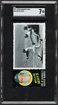 Baseball Cards:Singles (1970-Now), 1971 Topps Greatest Moments Willie Mays #41 SGC NM 7....