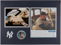 Autographs:Photos, Mickey Mantle Signed Display....