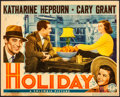 """Movie Posters:Comedy, Holiday (Columbia, 1938). Fine+. Trimmed Lobby Card (10.75"""" X 13.5""""). Comedy.. ..."""