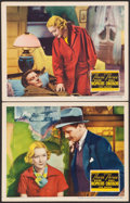 """Movie Posters:Drama, These Three (United Artists, 1936). Very Fine-. Lobby Cards (2) (11"""" X 14""""). Drama.. ... (Total: 2 Items)"""