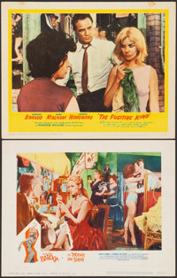 "A Woman Like Satan & Other Lot (Lopert, 1959). Very Fine-. Lobby Cards (2) (11"" X 14""). Bad Girl..."