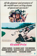 "Movie Posters:Sports, Grand Prix (MGM, 1967). Folded, Very Fine-. One Sheet (27"" X 41""). Howard Terpning Artwork. Sports.. ..."