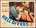 "Movie Posters:Adventure, Hell Divers (MGM, 1932). Very Fine+. Lobby Card (11"" X 14""). Adventure.. ..."