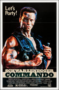 "Movie Posters:Action, Commando (20th Century Fox, 1985). Folded, Very Fine+. One Sheet (27"" X 41"") SS. Action.. ..."