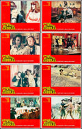 "Movie Posters:Comedy, Blazing Saddles (Warner Brothers, 1974). Overall: Very Fine/Near Mint. Lobby Card Set of 8 (11"" X 14""). Comedy. From the C... (Total: 8 Items)"