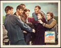 """Movie Posters:Hitchcock, Lifeboat (20th Century Fox, 1944). Very Fine. Lobby Card (11"""" X 14""""). Hitchcock. From the Collection of Frank Buxton, of w..."""