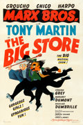 """Movie Posters:Comedy, The Big Store (MGM, 1941). Fine on Linen. One Sheet (27"""" X 41"""") Style C, Al Hirschfeld Artwork.. ..."""