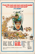 """Movie Posters:Comedy, It's a Mad, Mad, Mad, Mad World (United Artists, R-1970). Folded, Fine/Very Fine. One Sheet (27"""" X 41""""). Jack Davis Artwork...."""