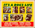 """Movie Posters:Comedy, It's a Dog's Life (MGM, 1955). Folded, Very Fine-. Half Sheets (2) (22"""" X 28"""") Styles A & B. Comedy.. ... (Total: 2 Items)"""