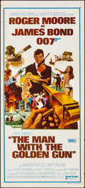 "Movie Posters:James Bond, The Man with the Golden Gun (United Artists, 1974). Folded, Very Fine-. Australian Daybill (13"" X 30""). Robert McGinnis Artw..."