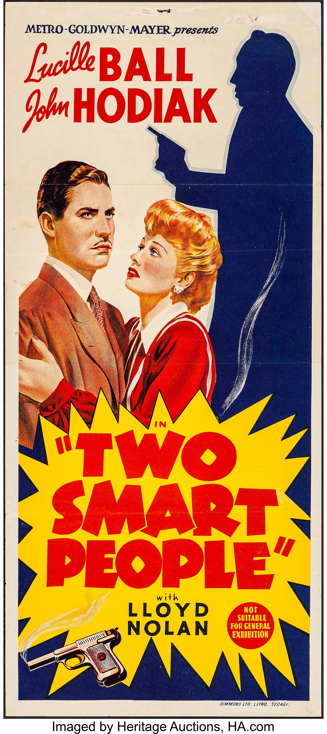 Two Smart People (MGM, 1946). Folded, Very Fine-. Australian   Lot #53480    Heritage Auctions