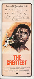 "Movie Posters:Sports, The Greatest (Columbia, 1977). Folded, Very Fine-. Australian Daybill (13"" X 30""). Sports.. ..."