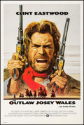 """Movie Posters:Western, The Outlaw Josey Wales (Warner Brothers, 1976). Fine/Very Fine on Linen. One Sheet (27.25"""" X 41"""") Roy Andersen Artwork. West..."""
