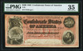Confederate Notes:1864 Issues, T64 $500 1864 PF-3 Cr. 489B PMG Choice Very Fine 35.. ...