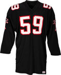 Football Collectibles:Uniforms, Circa 1966 Atlanta Falcons Game Worn Jersey. ...