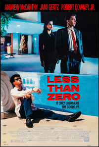 "Less Than Zero & Other Lot (20th Century Fox, 1987). Rolled, Very Fine+. One Sheets (2) (27"" X 40"" &am..."