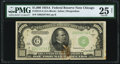 Fr. 2212-G $1,000 1934A Federal Reserve Note. PMG Very Fine 25 Net